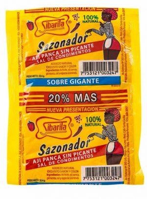 sazonador en polvo sibarita 9,5gr, bag of 4 sachets