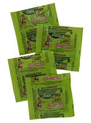 Sazonador Sibarita Verdesito 6,5 gr bag of 4 sachets