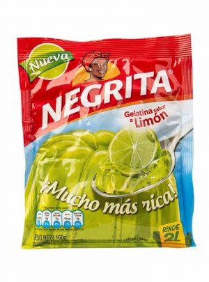 Gelatina Limon La Negrita 160gr