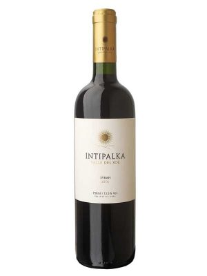 Bottle of Intipalka Syrah wine