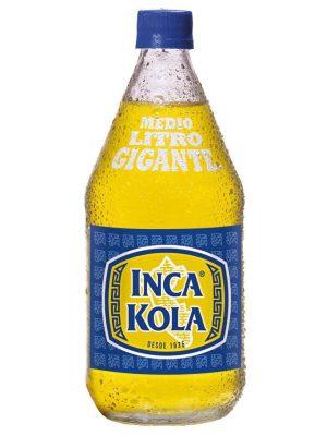 Botella de Inca Kola Gordita