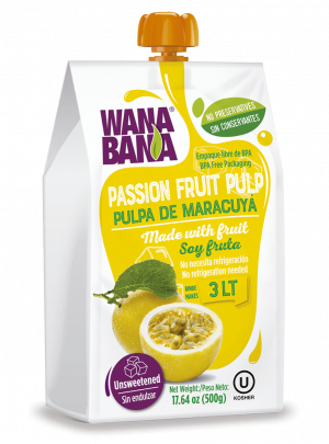 Passion Fruit Pulp 500ml