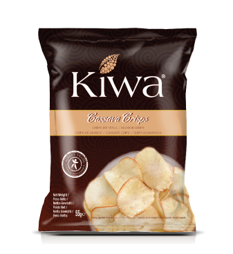 Kiwa chips cassava 55gr