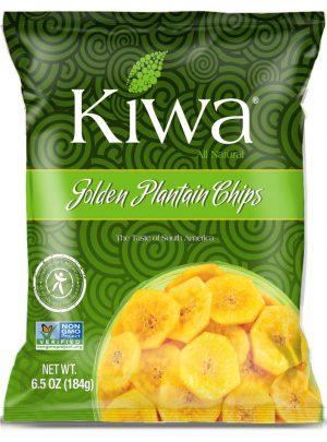 Kiwa golden plantain chips  184gr