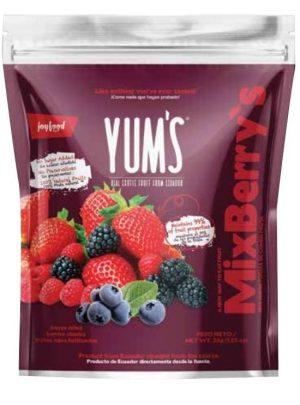 Yum's real Berries Mix