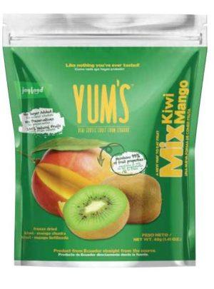 Yum's real Kiwi and Mango