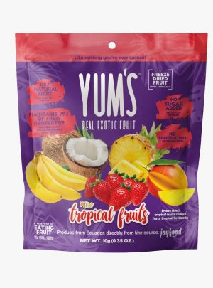 Yum's real Tropical Fruit mix