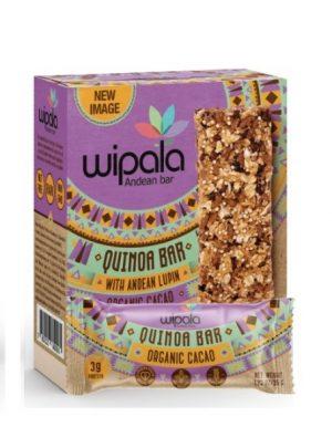 Wipala Cacao, quinoa and tarwi box (6 units)