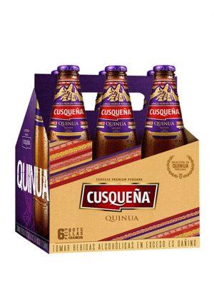 Beer cusqueña dorada whith quinoa 330ml