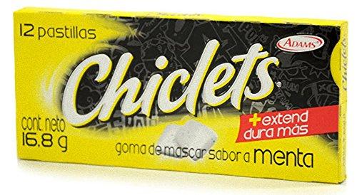 Chiclets Admas box of 12 units