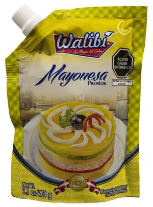 Mayonesa Walibi Doypack 200gr