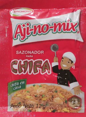 Ajinomix chifa sazonador 4 sachets