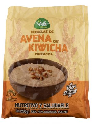 Oat flakes with pre-cooked kiwicha 250gr Del Valle