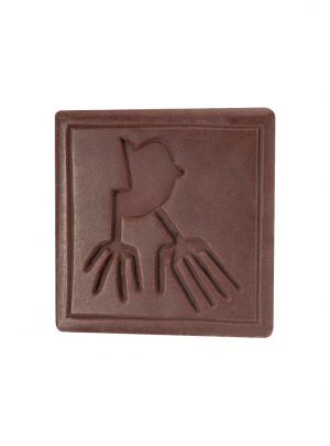 Chocolate Nazca Lines Hands